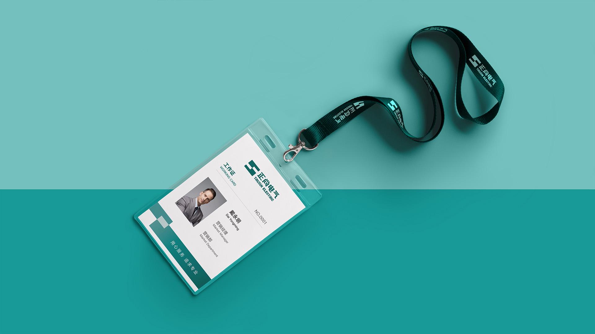 正尚电气品牌形象升级设计vi设计